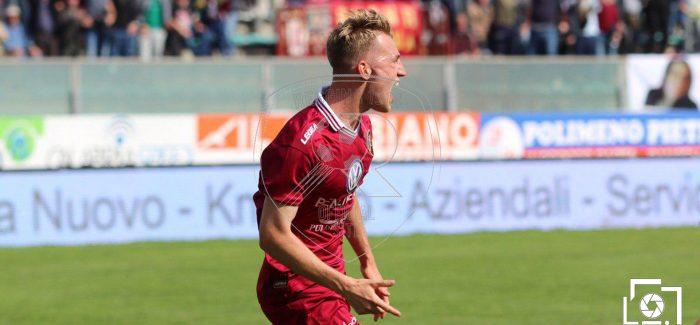 Serie C : la Reggina batte la Casertana e rinforza il sogno play-off Nella bolgia del Granillo gli amaranto dominano la gara