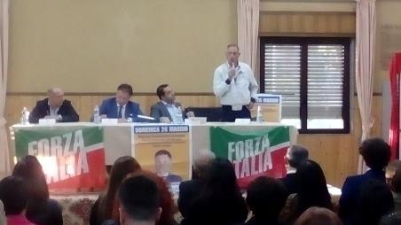 """Taurianova, Forza Italia presenta Pedà per l'Europa Presente l'on. Francesco Cannizzaro, """"Taurianova è la mia seconda casa"""""""