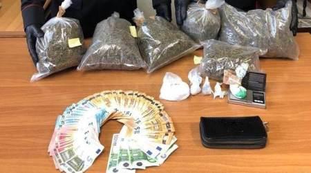 Droga nascosta in cantina, arresti domiciliari a 38enne La sostanza stupefacente è stata sequestrata dai Carabinieri