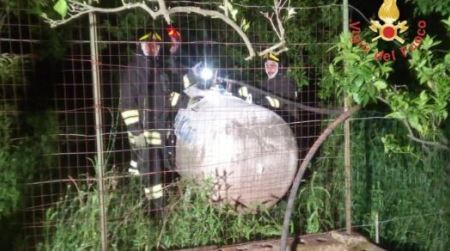 Perdita gas serbatoio fabbricato, notte di paura in Calabria L'intervento dei Vigili del Fuoco ha evitato conseguenze peggiori