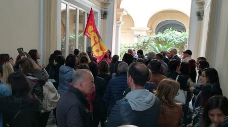 Reggio, presidio lavoratori strutture psichiatriche Chiesto lo sblocco dei pagamenti fermi al dicembre scorso