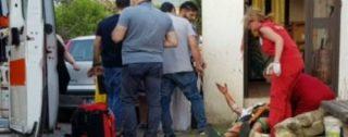 Lite degenera in accoltellamento e sparatoria: due persone ferite