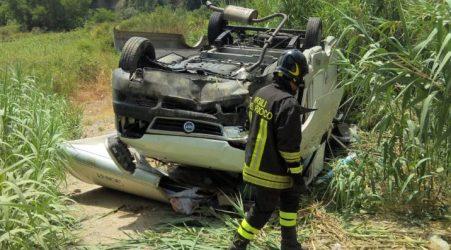 Rosarno, rottura freni: camper precipita per diversi metri Due persone sono state trasferite all'ospedale di Locri per accertamenti