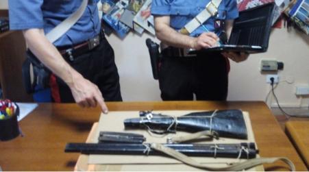 Rissa con esplosione di colpi, ritrovata arma del delitto Indagini svolte dai Carabinieri
