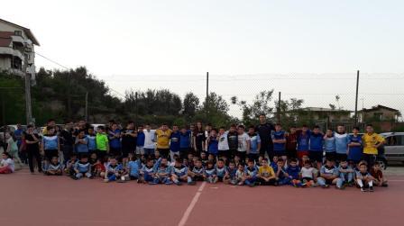 """Delianuova, concluse attività scuola calcio """"La Cantera"""" Bella realtà di sport per i più piccoli"""