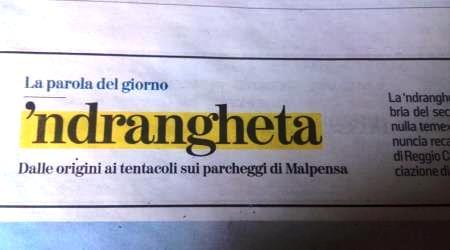 """La 'ndrangheta è stata scoperta a Taurianova! Secondo """"La Stampa"""", partendo da una denuncia anonima si è saputo di una """"setta che nulla teme"""" nella città della Piana di Gioia Tauro"""