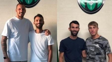 Calcio serie D, doppio acquisto per la società Palmese 1912 La squadra neroverde ha tesserato il portiere Mattia Licastro ed il centrocampista Francesco Villa