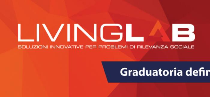 Bando Living Lab: pubblicata la graduatoria definitiva L'Avviso Pubblico sostiene la generazione di soluzioni innovative a specifici problemi di rilevanza sociale