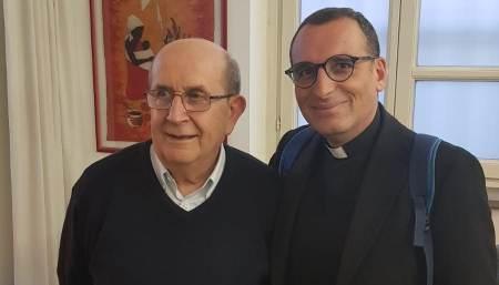"""Incontro nell'Arsenale di pace con Ernesto Olivero fondatore del SERMIG """"Per me una provvidenza, è stata l'opportunità di parlare con lui"""""""