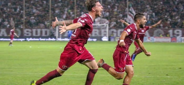 Serie C : Corazza punisce il Catanzaro Una Reggina implacabile si aggiudica meritatamente il derby