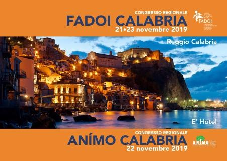 Congresso Regionale F.A.D.O.I. Calabria / A.N.I.M.O. Calabria 2019 Il Congresso è stato Organizzato dal Dott. Francesco NASSO, Presidente di F.A.D.O.I. e Direttore della Struttura Operativa di Medicina Interna del P.O. di Polistena