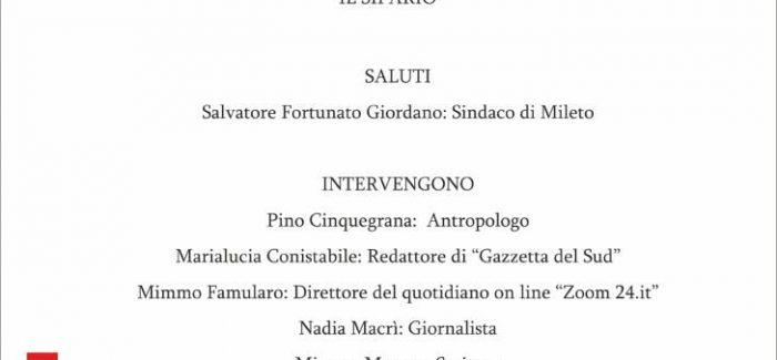"""Nasce la rivista """"Il Sipario"""" Un occhio rivolto al vibonese e a tutta la Calabria. Direttore responsabile sarà il giornalista Vincenzo Varone"""