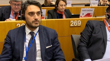 Nicola Irto al Comitato delle Regioni a Bruxelles Per difendere il Mezzogiorno