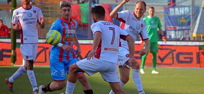 Serie C : Reggina e Catania si dividono la posta Una gara poco spettacolare che rispecchia il risultato finale