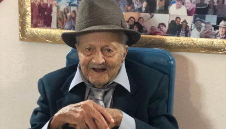"""Giuseppe Armeni oggi compie cento anni! Anche Ardore oggi festeggia uno dei suoi cittadini entrando tra i """"centenari d'Italia"""""""