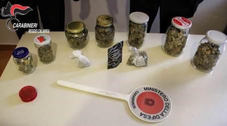 Piana di Gioia Tauro, due arresti per spaccio di droga Sequestrati oltre due kg di cocaina e 200 gr di marijuana