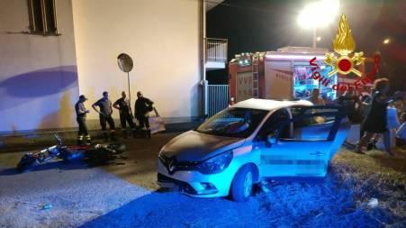 Grave incidente nella notte a Lamezia, cinque feriti